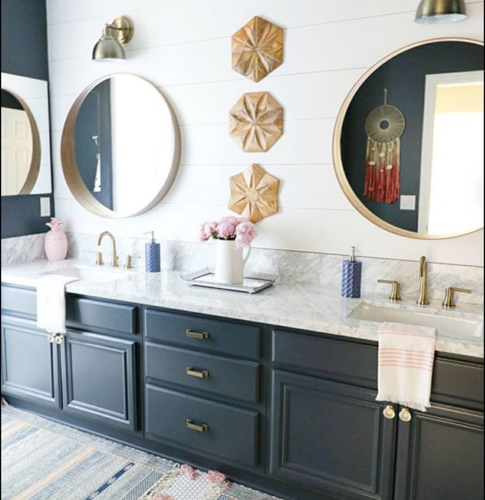 bathroom top size bath vanity full navy and ideas impressive delightful blue cabinet of inside wonderful double with