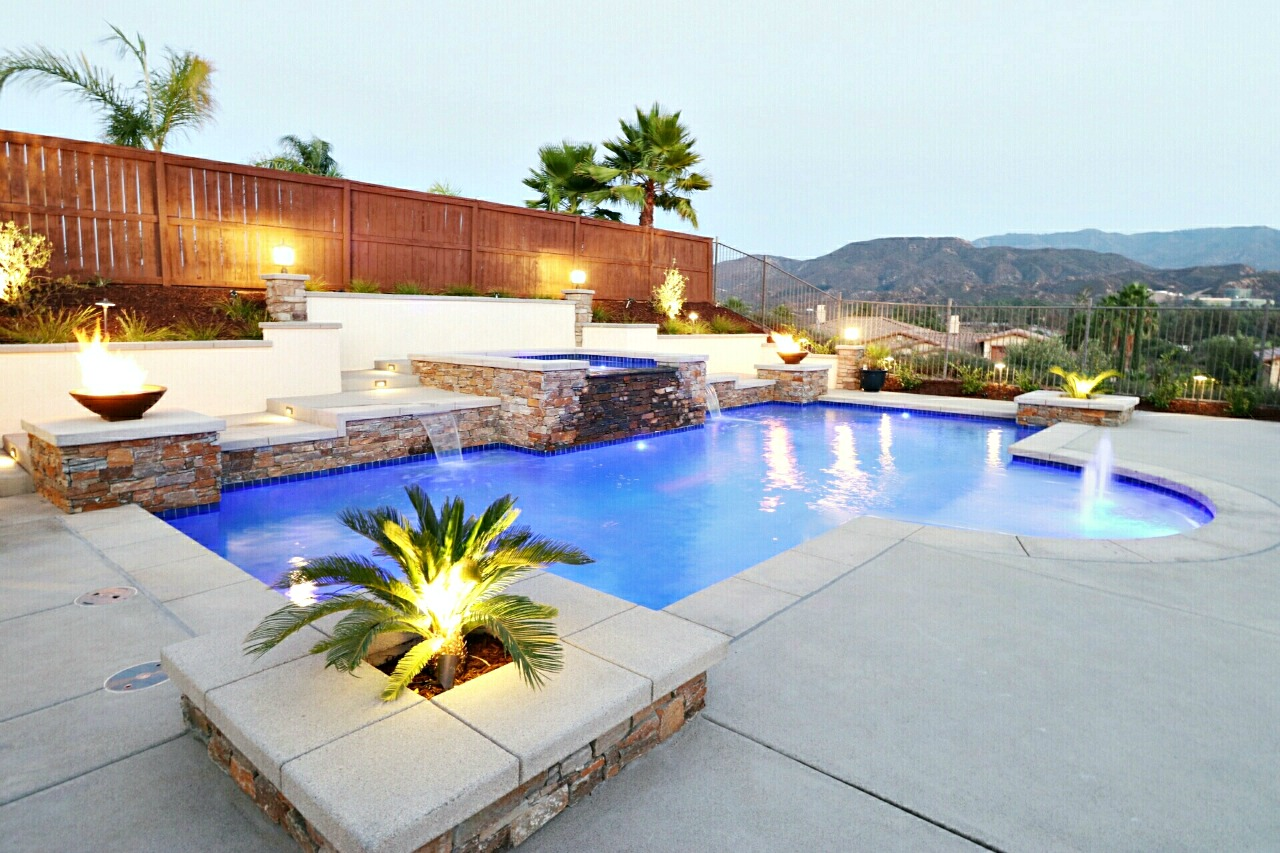 backyard design with pool house becomes home interiors