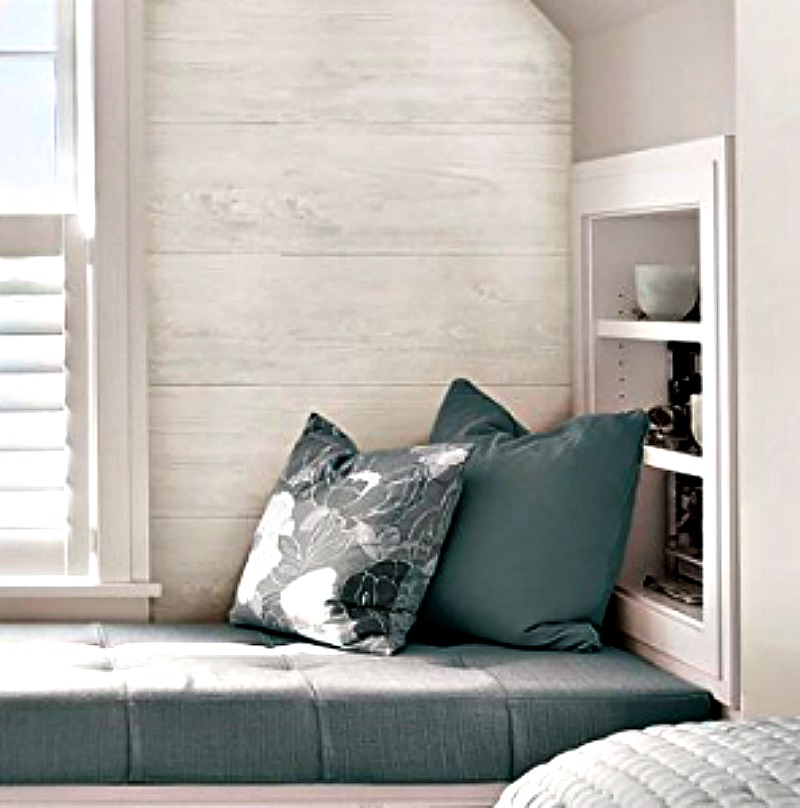 faux shiplap wallpaper fall home decor trends - House