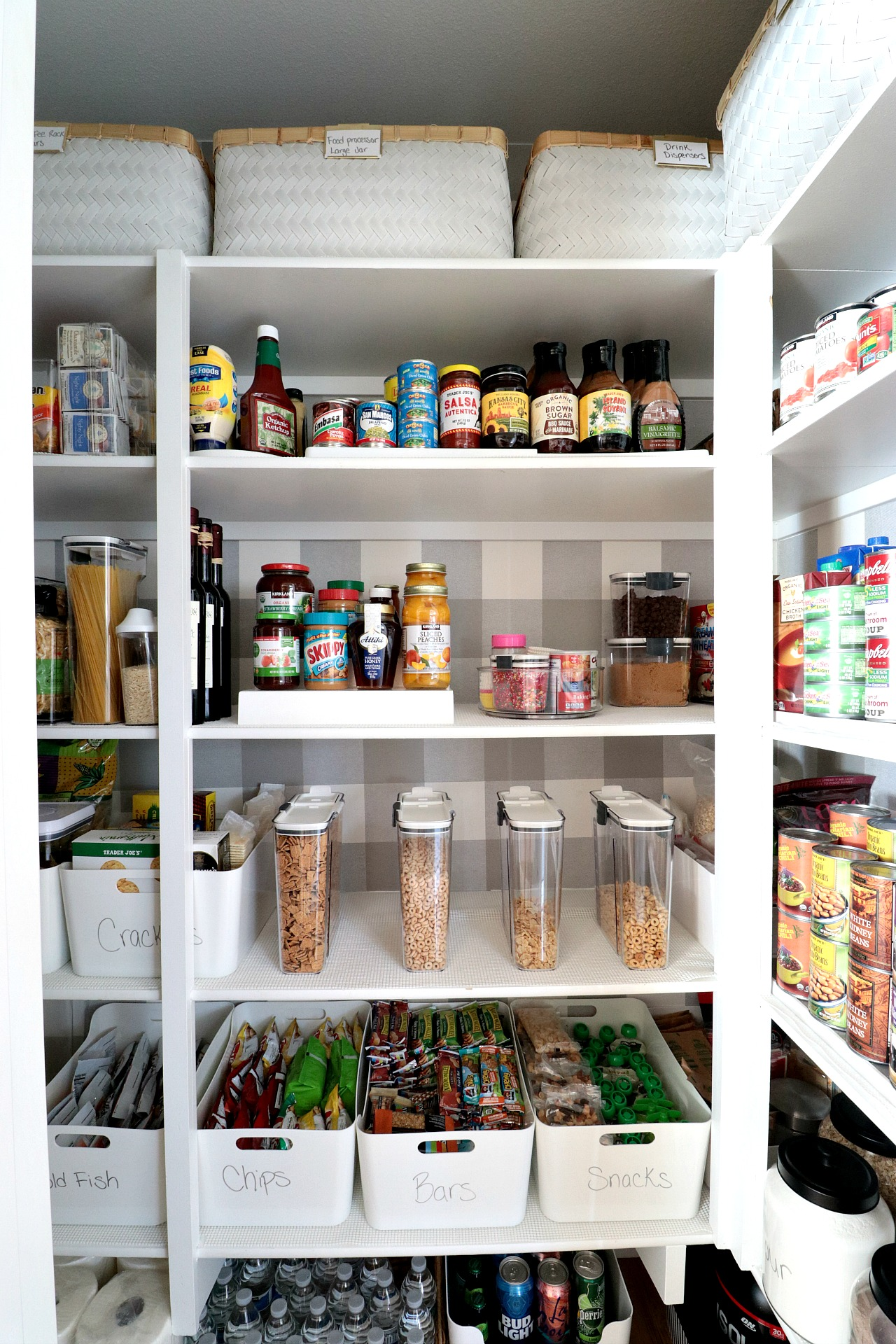 Pantry Organization Makeover With The Container Store
