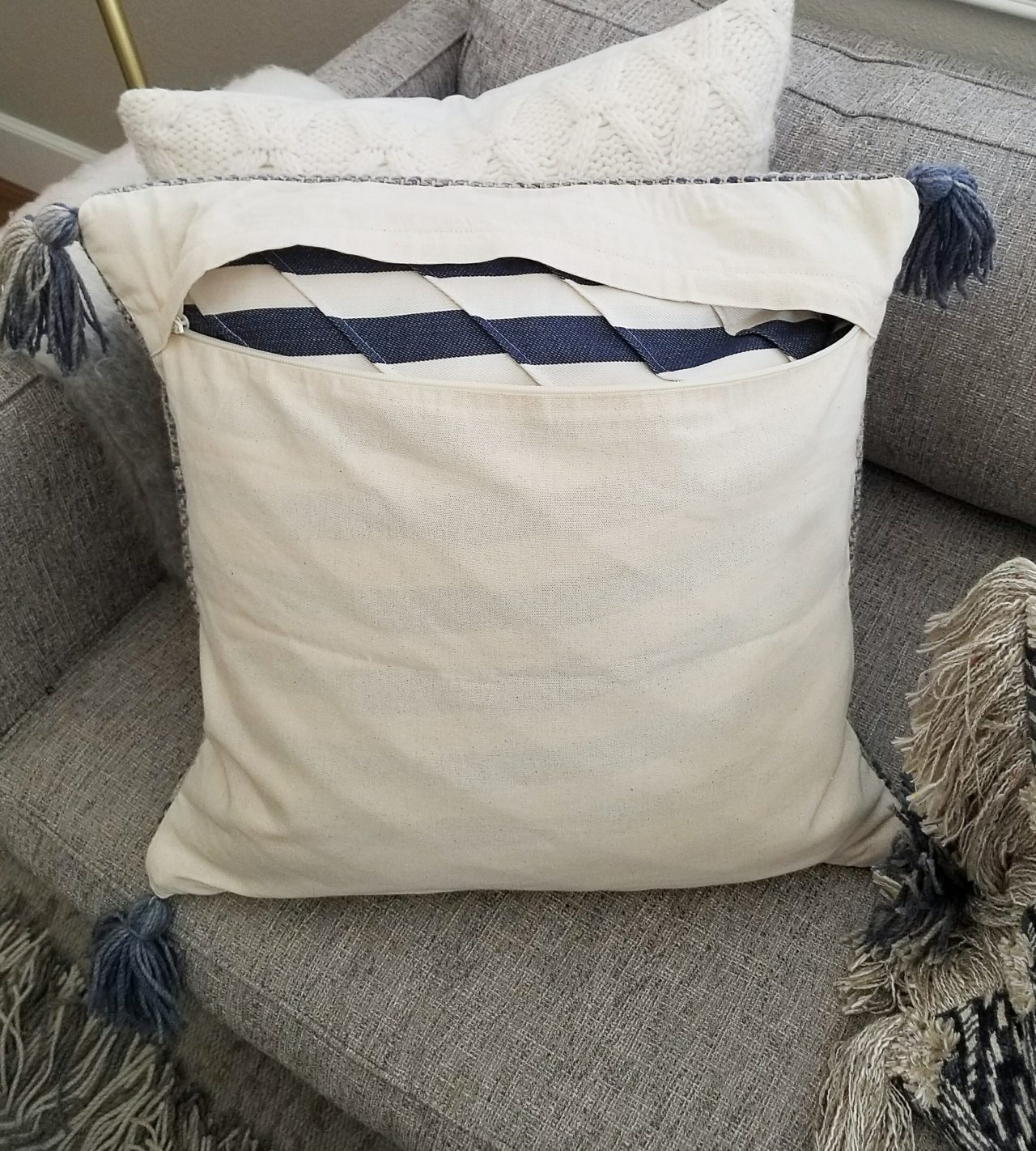 Pillow Styling, Sources and Arrangements - House Becomes ...