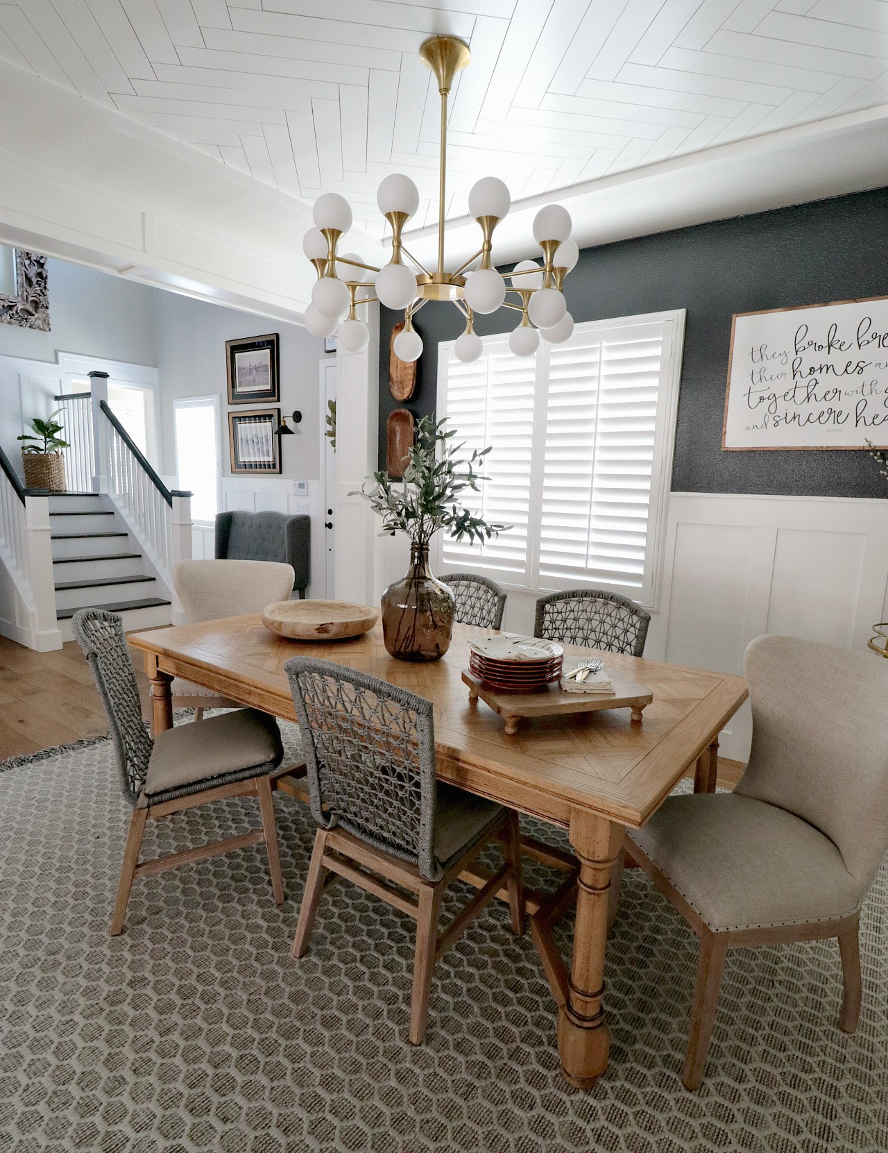 Hello And Welcome To My Dining Room Refresh Blog Post Had Been A E In Home That I Have Never Fully Felt Content With