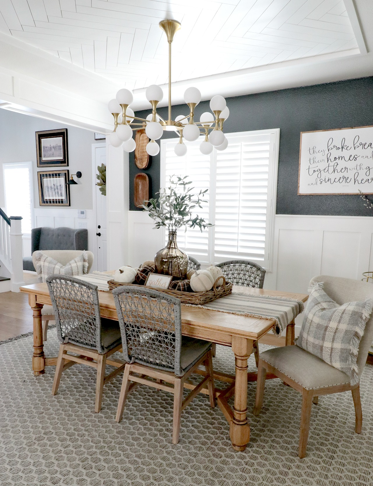 Watch See How This Dining Room Went From Storage Catch-all to Sophisticated Gathering Place video