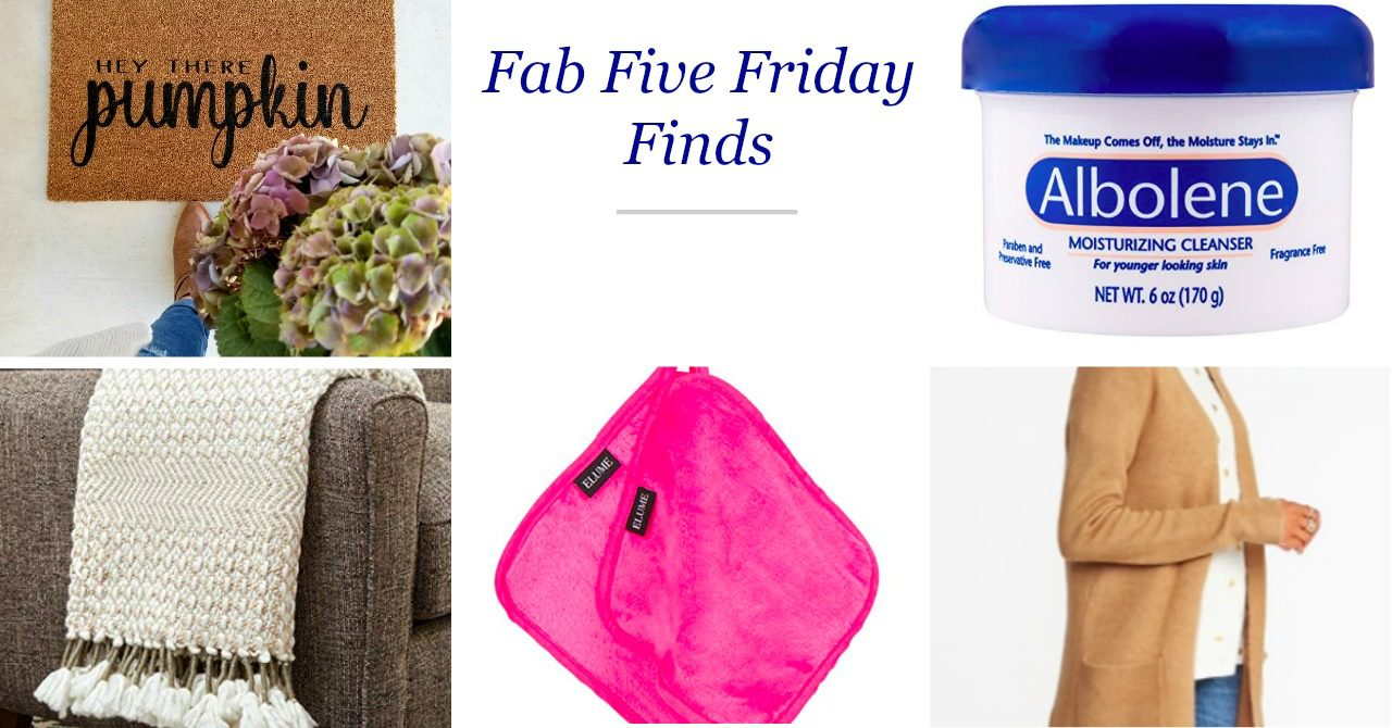 Fab Five Friday Finds