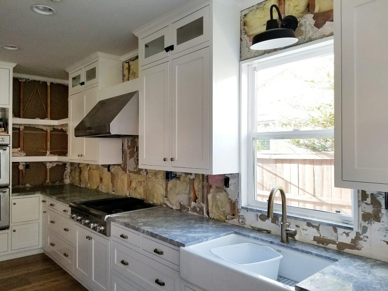 Kitchen Backsplash Installation With Floor Decor House Becomes Home Interiors