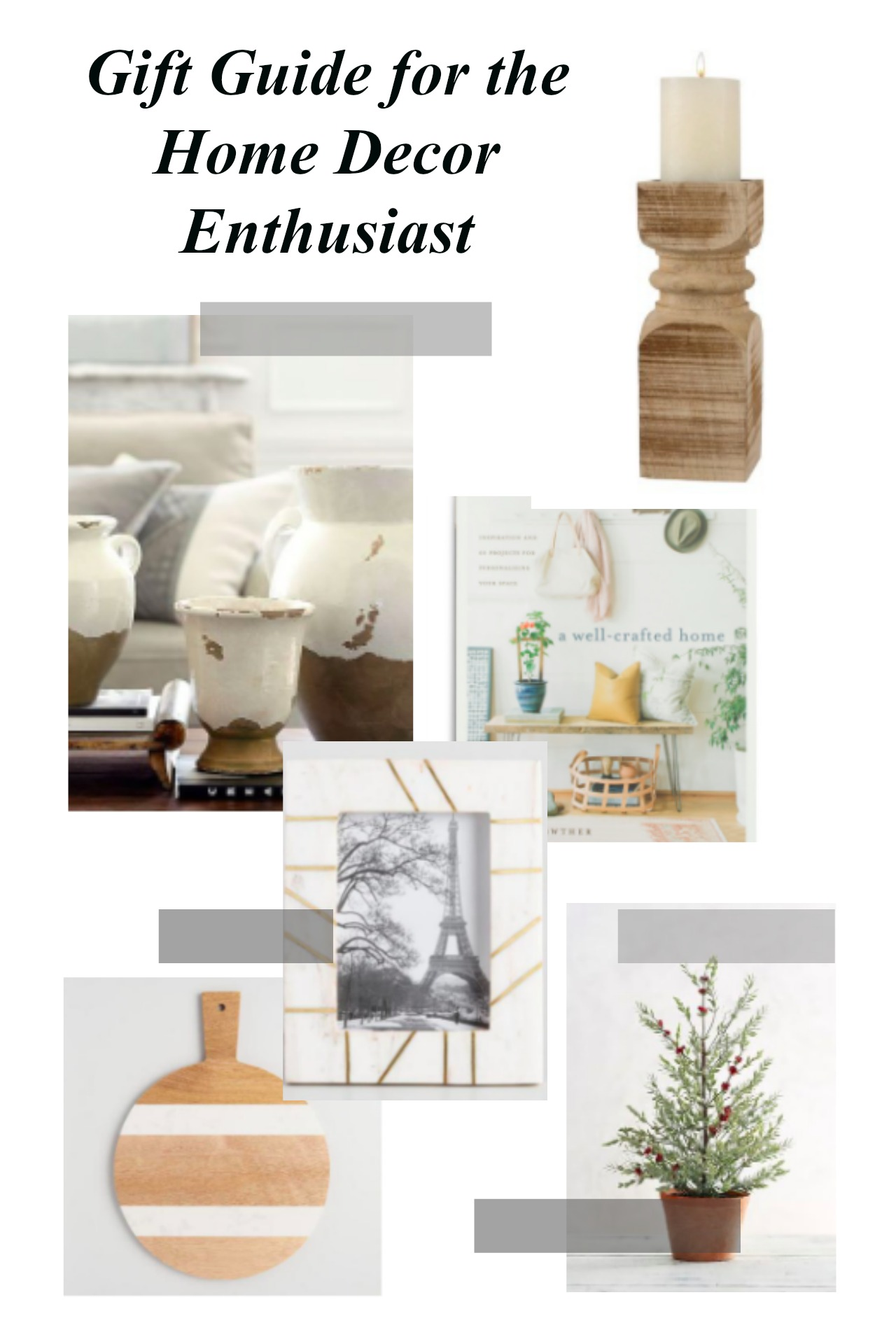 Gift Guide For The Home Decor Enthusiast House Becomes Home Interiors
