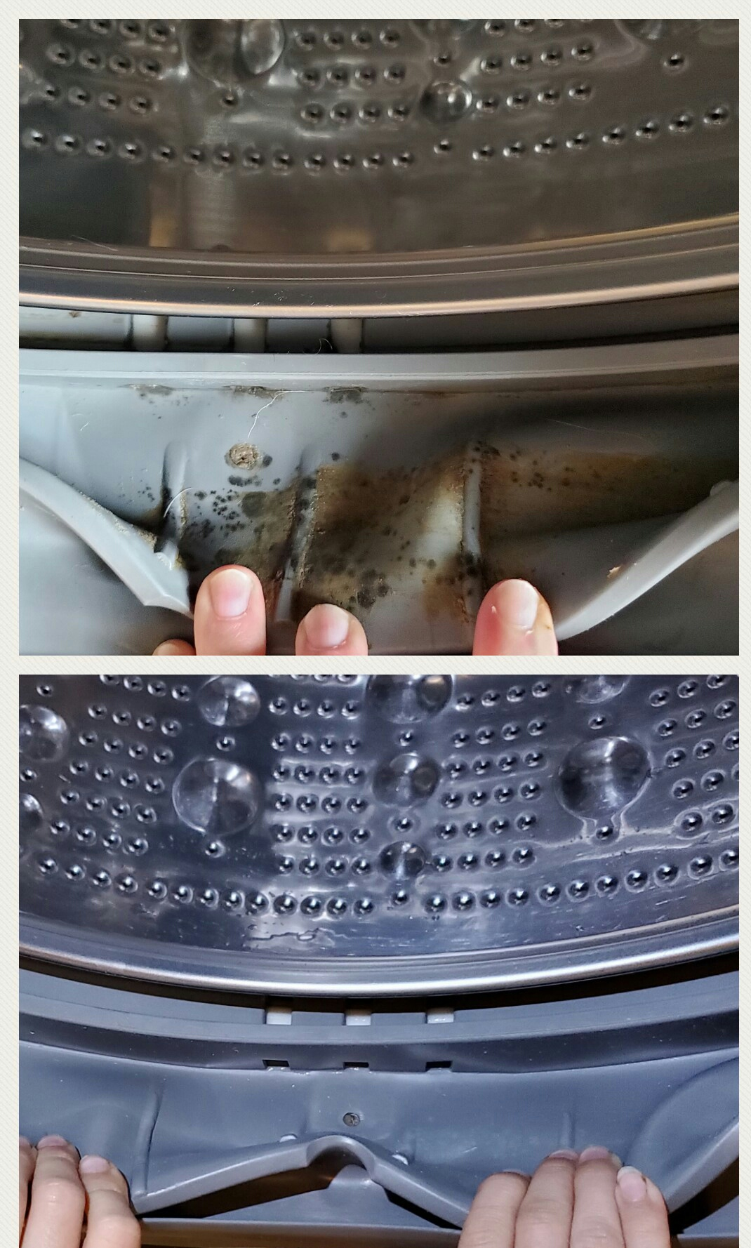 How To Clean Your Front Load Washing Machine - House Becomes Home