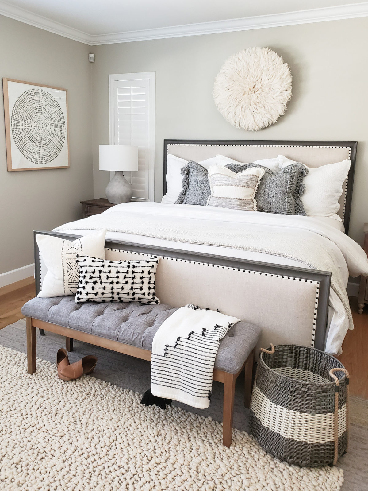 Master Bedroom Tour With Troy Lighting House Becomes Home Interiors